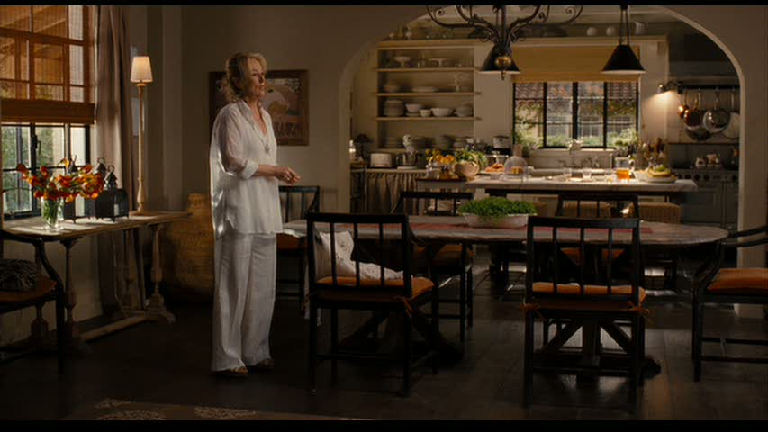 Who could forget the Spanish hacienda-style ranch that Meryl Streep's character owned in the romantic comedy  It's Complicated . The vaulted ceilings, tiled roof, wide verandahs and kitchen are to die for!