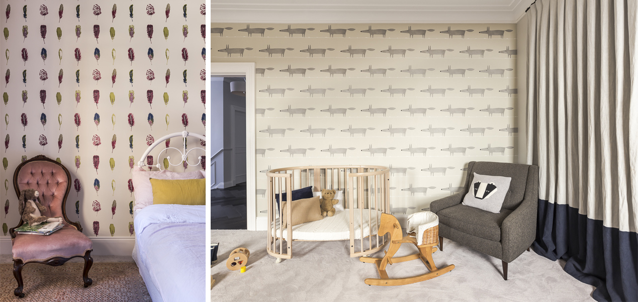Each child has thier own personalised bedroom . . . and the result is absolutely gorgeous!