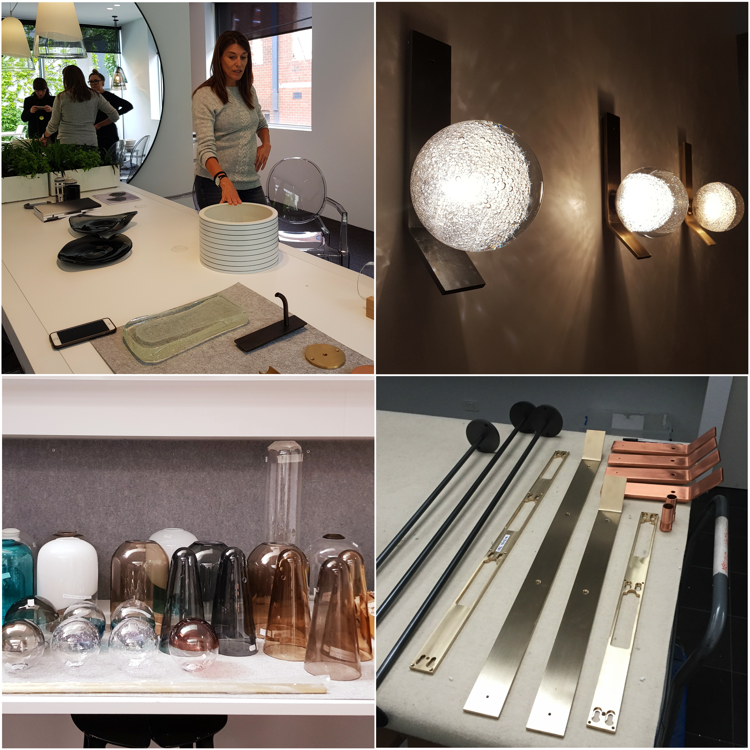 Nicci shared with us some of her amazing prototypes that are in the pipeline! We are already thinking about ways in which we can use these delicate new pieces in our client's homes.