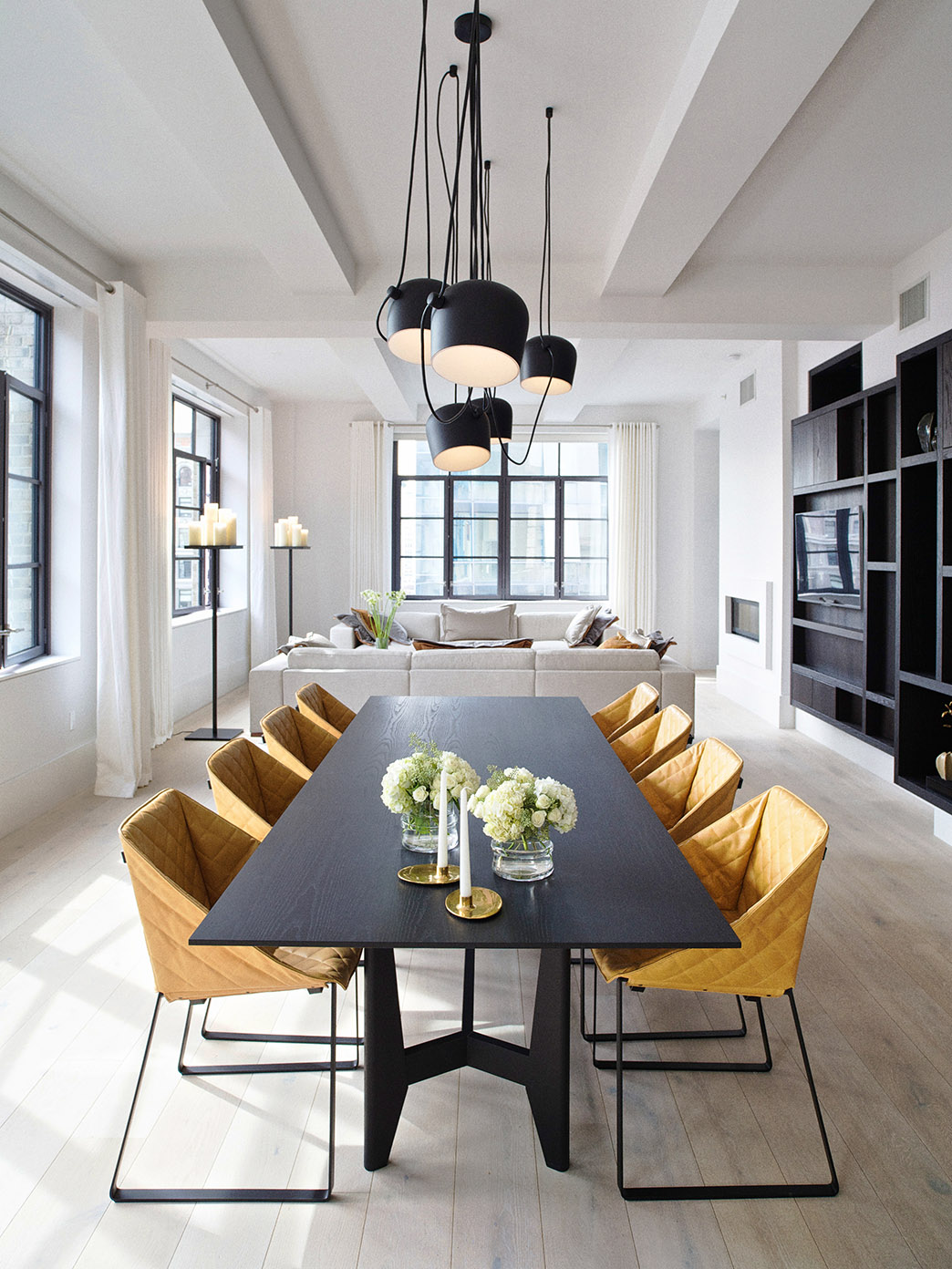 Huey Apartment, New York  by Piet Boon