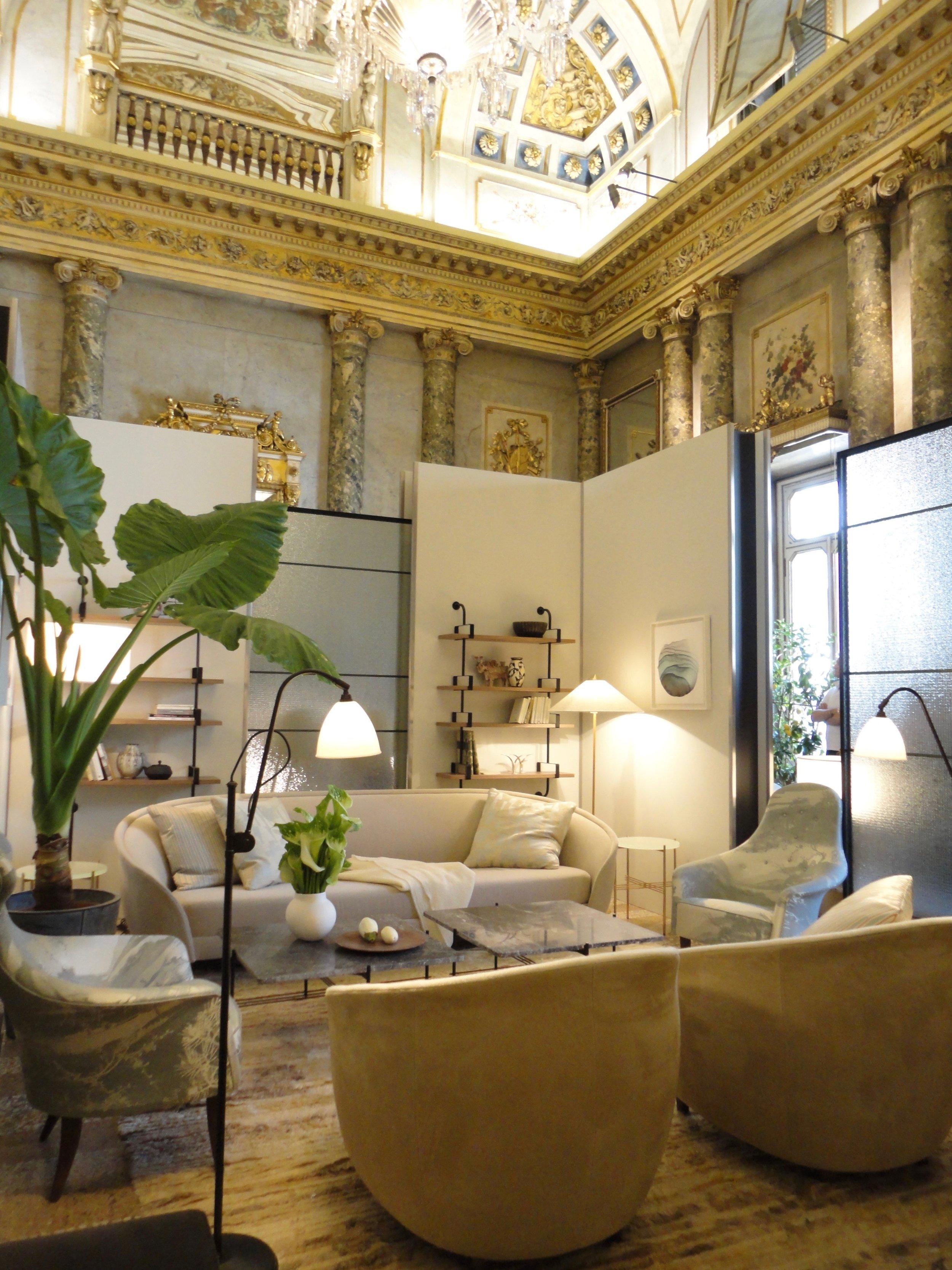 A stunning lounge setting by Gubi