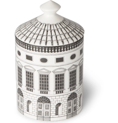 For the man who doesn't like traditionally-floral scented candles, Fornasetti's 'Otto' fragrance recalls the smells of the Fornasetti house in Milan. Think wooden floor boards, archival papers and Mediterranean herbs, from  Mr Porter .
