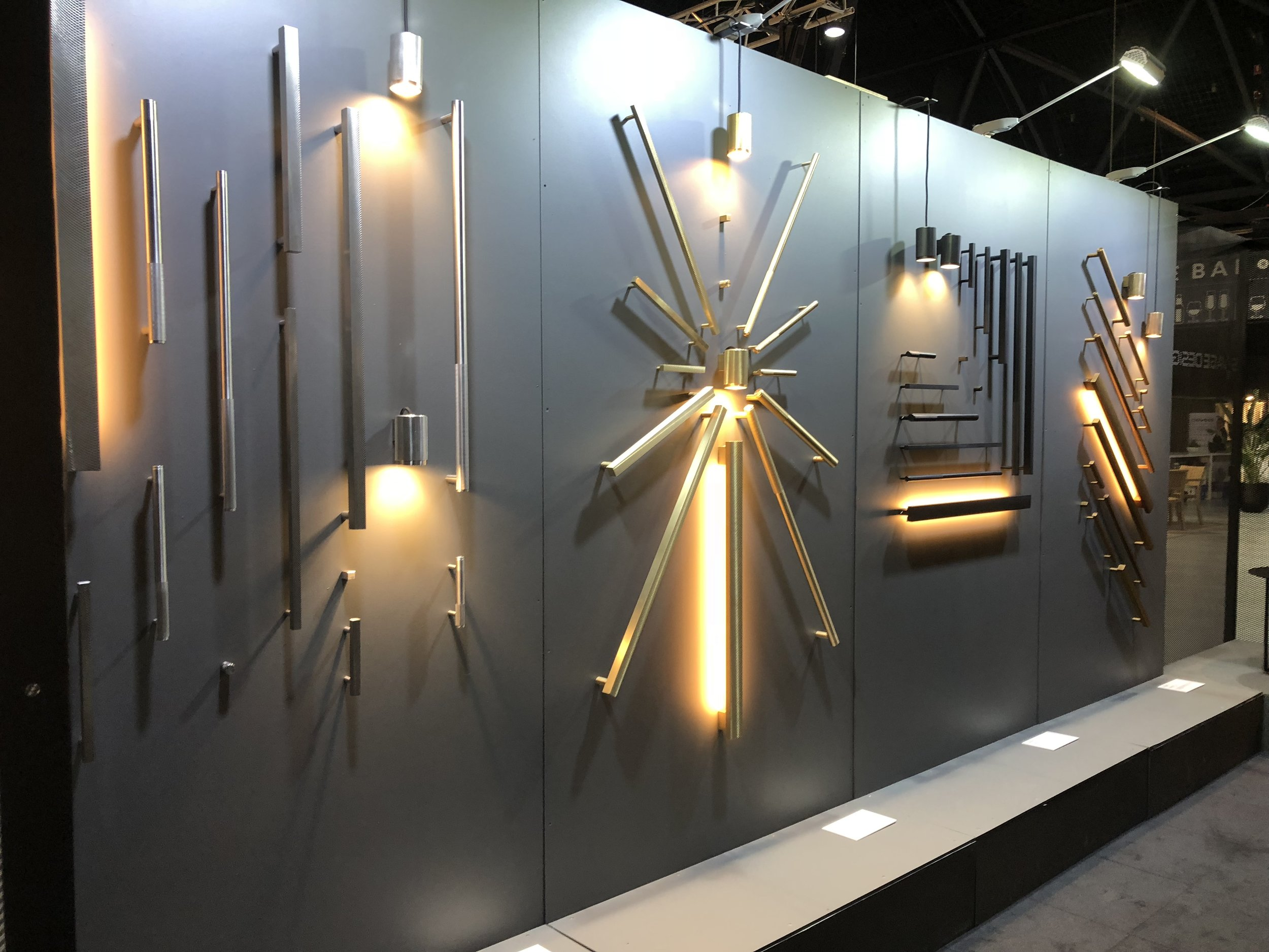 Savage Design showcased their expanding hardware range alongside some new furniture pieces.
