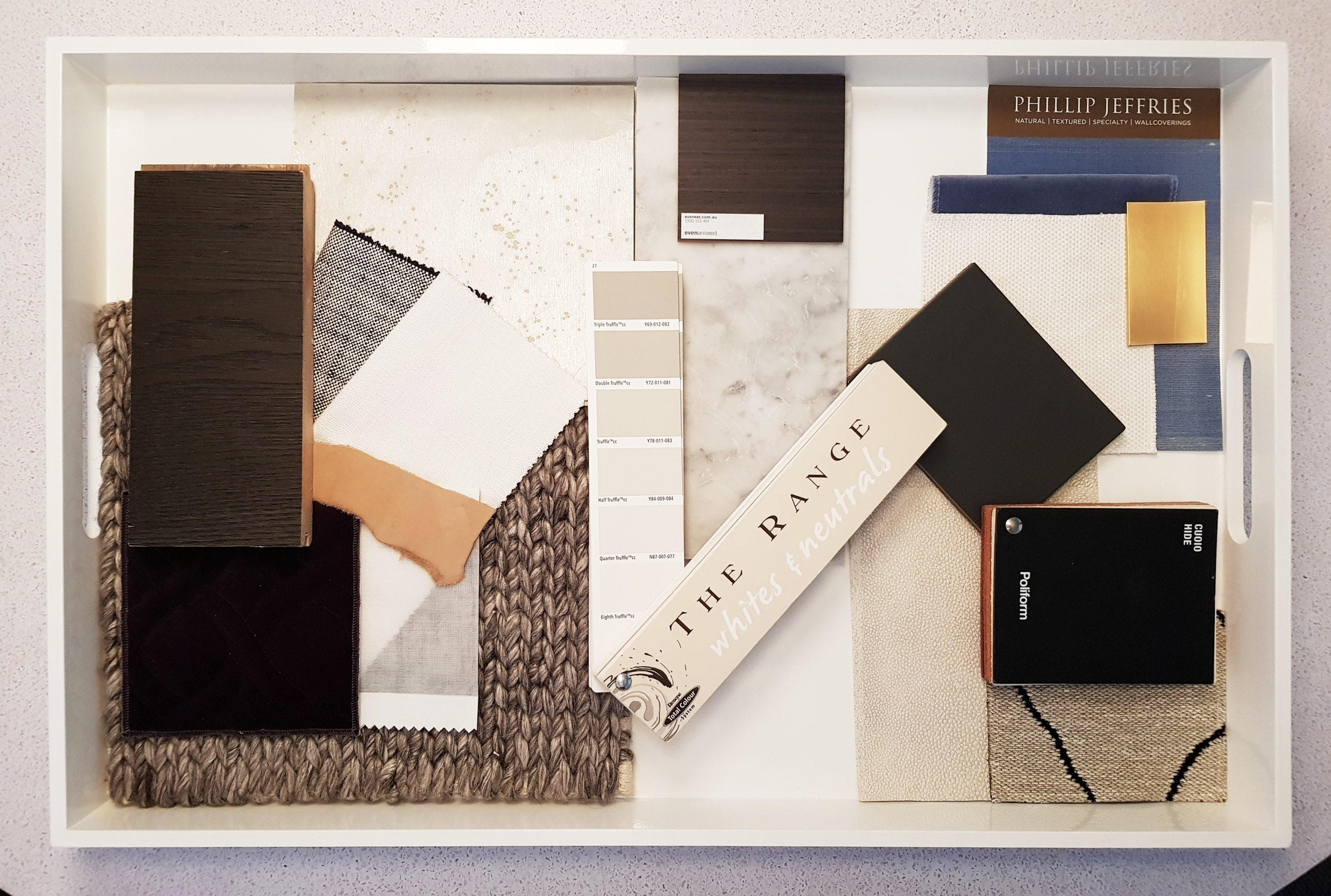 Our North Steyne materials palette