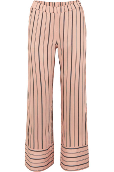 PJs can look dreary, but these  silky, striped set  are the perfect gift for the type of mum who enjoys snoozing in style.