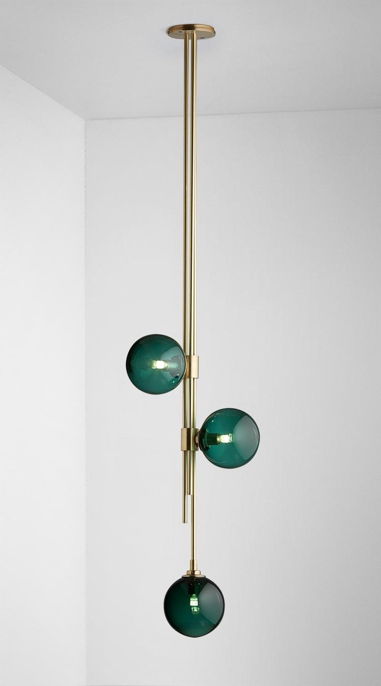 Trilogy Pendant by Articolo Lighting