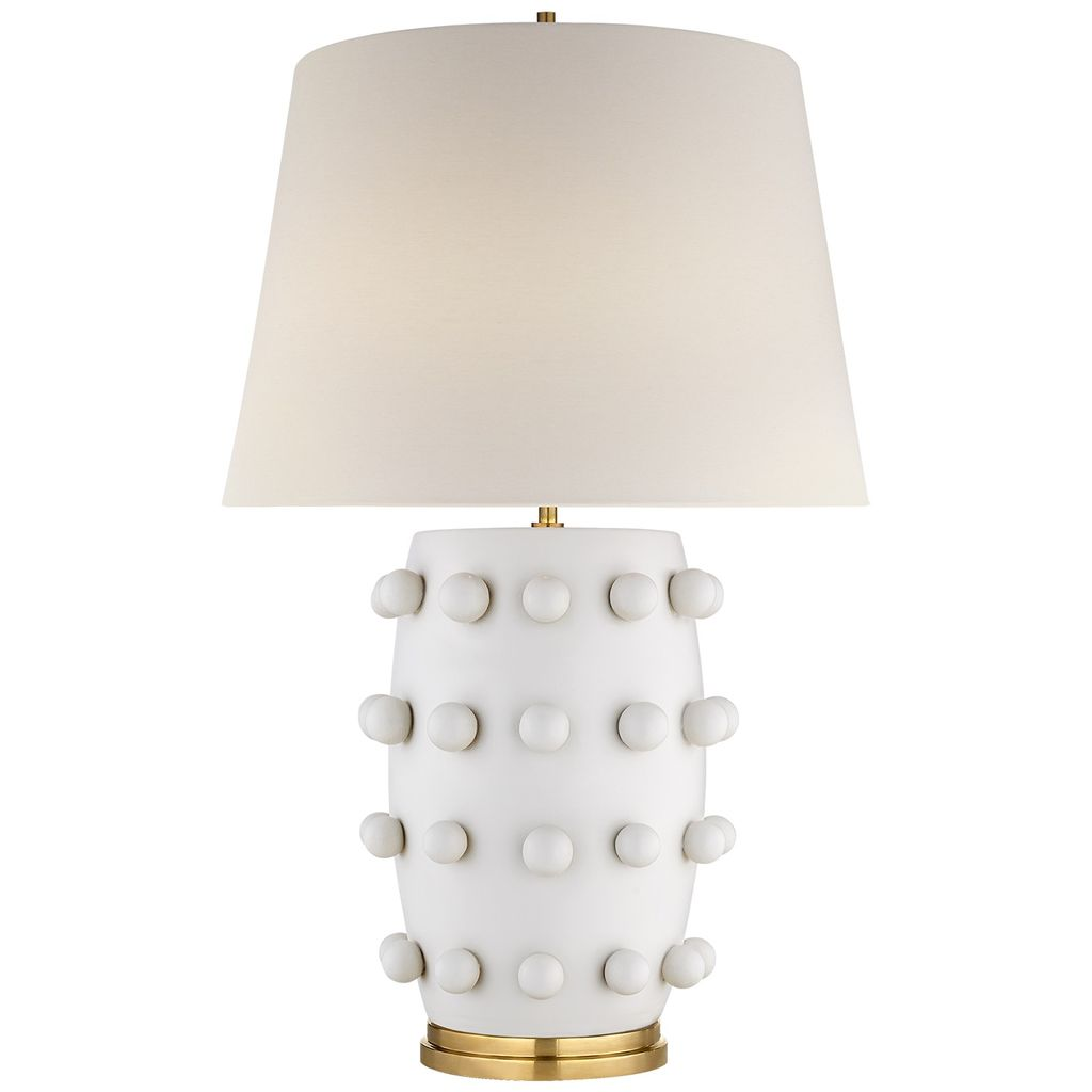 Linden Medium Lamp by Kelly Weatstler