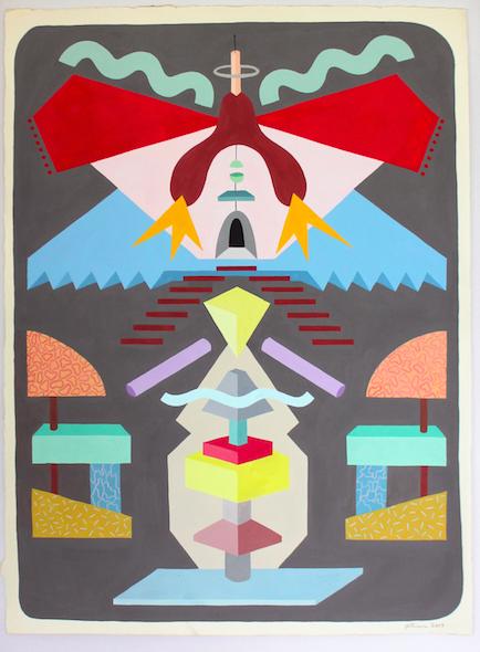 Copy of NEW LAND VAGINA (unframed)