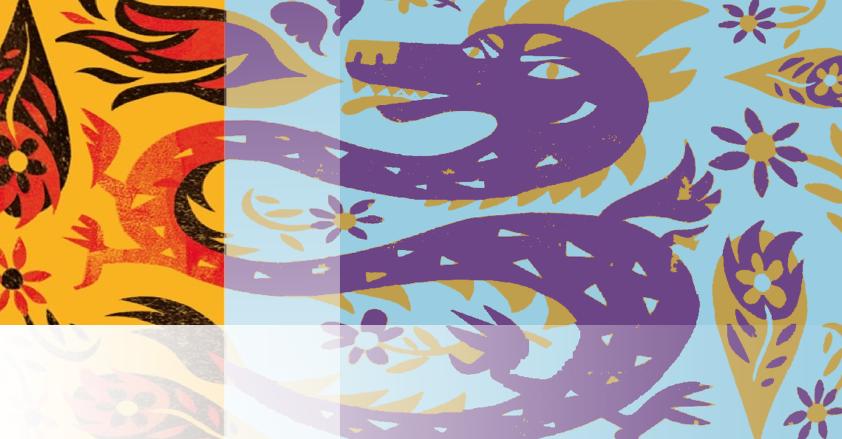 Illustrated Dragon
