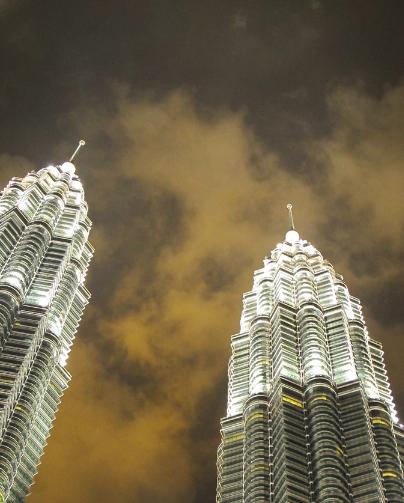 Petronas Night Sky
