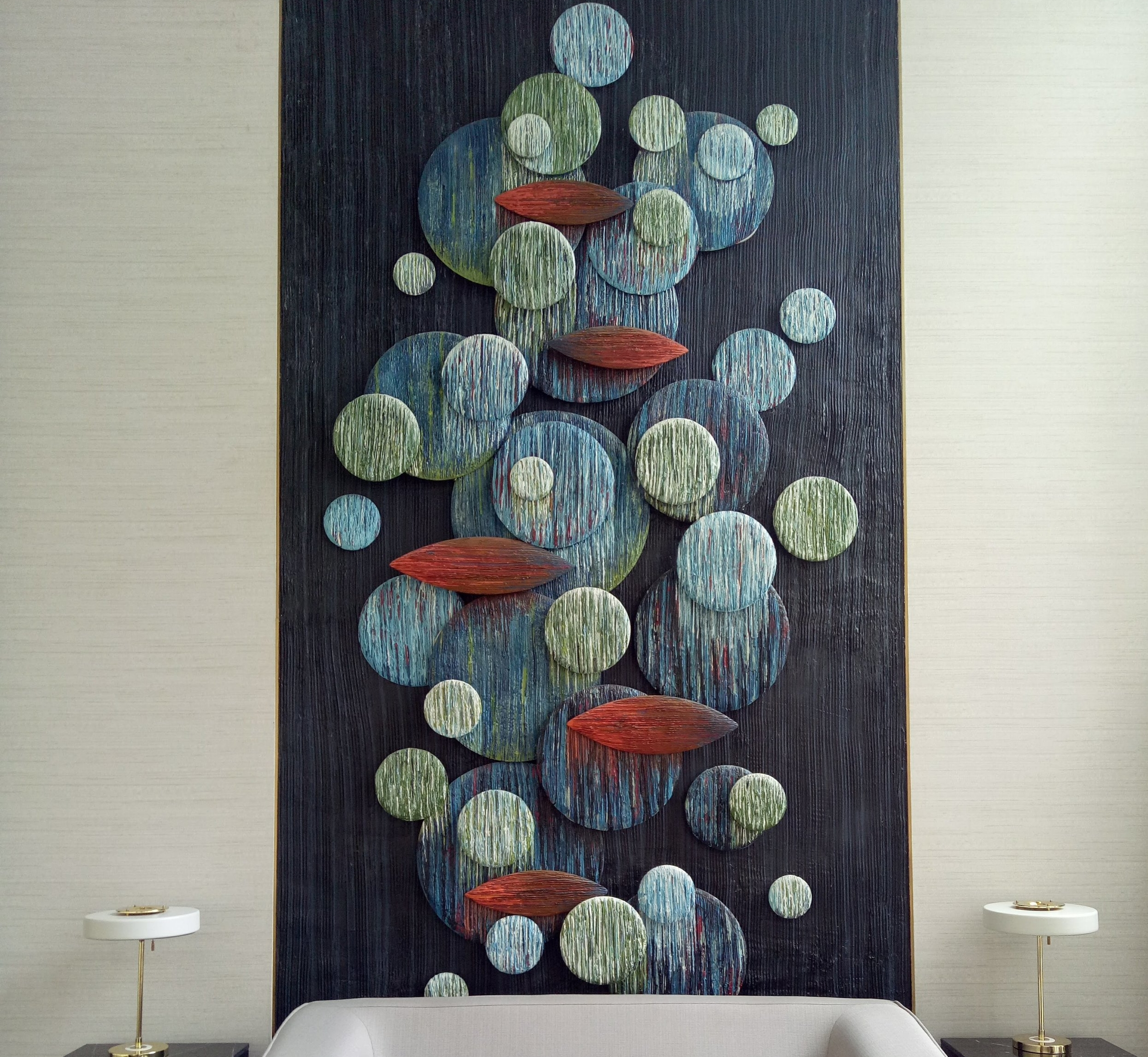 2D Wall Sculpture