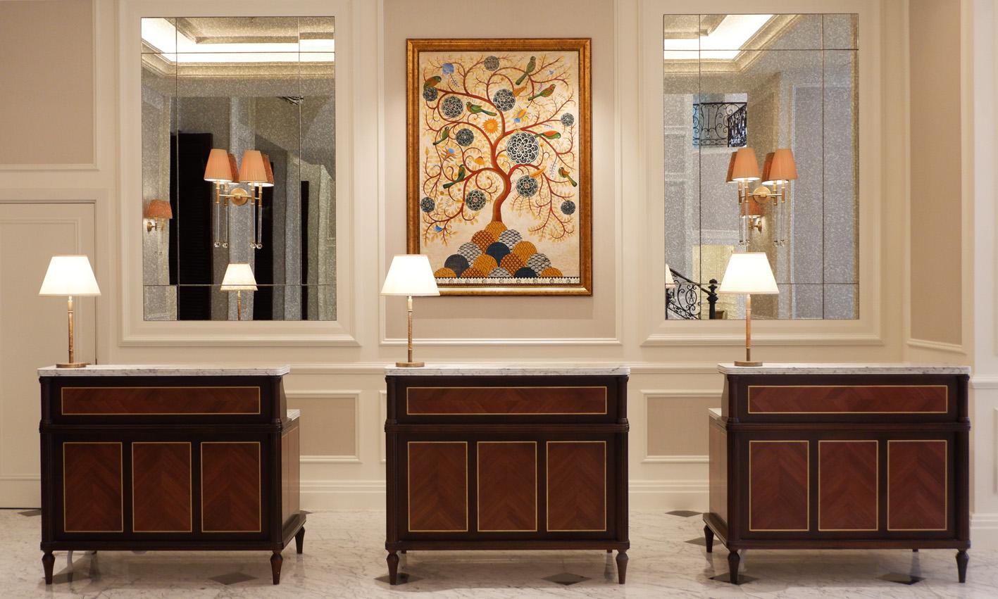 Mai House Saigon Lobby reception