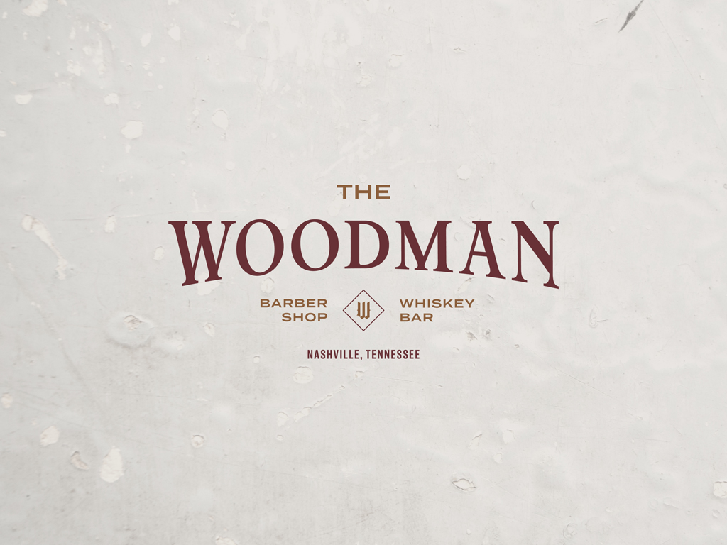 THE WOODMAN  Logo Design, Brand Identity, Print Collateral