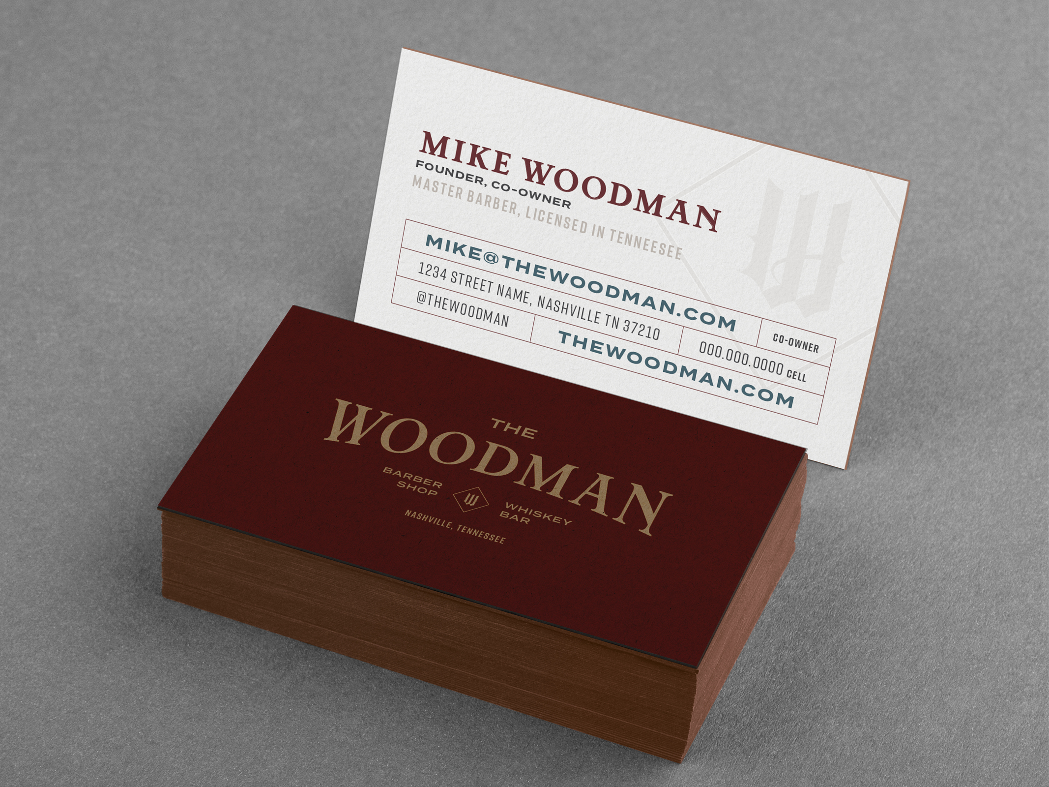 The Woodman Logo Design and Branding by Hello Gypsy