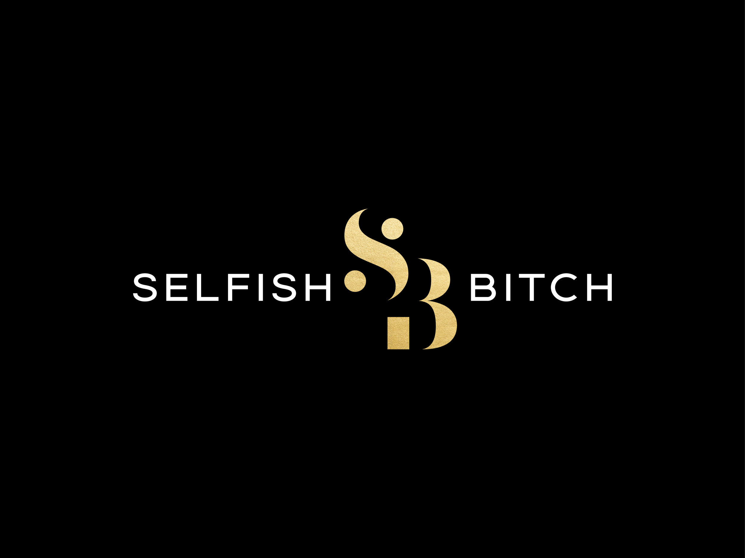 Selfish Bitch Logo Design and Branding by Hello Gypsy