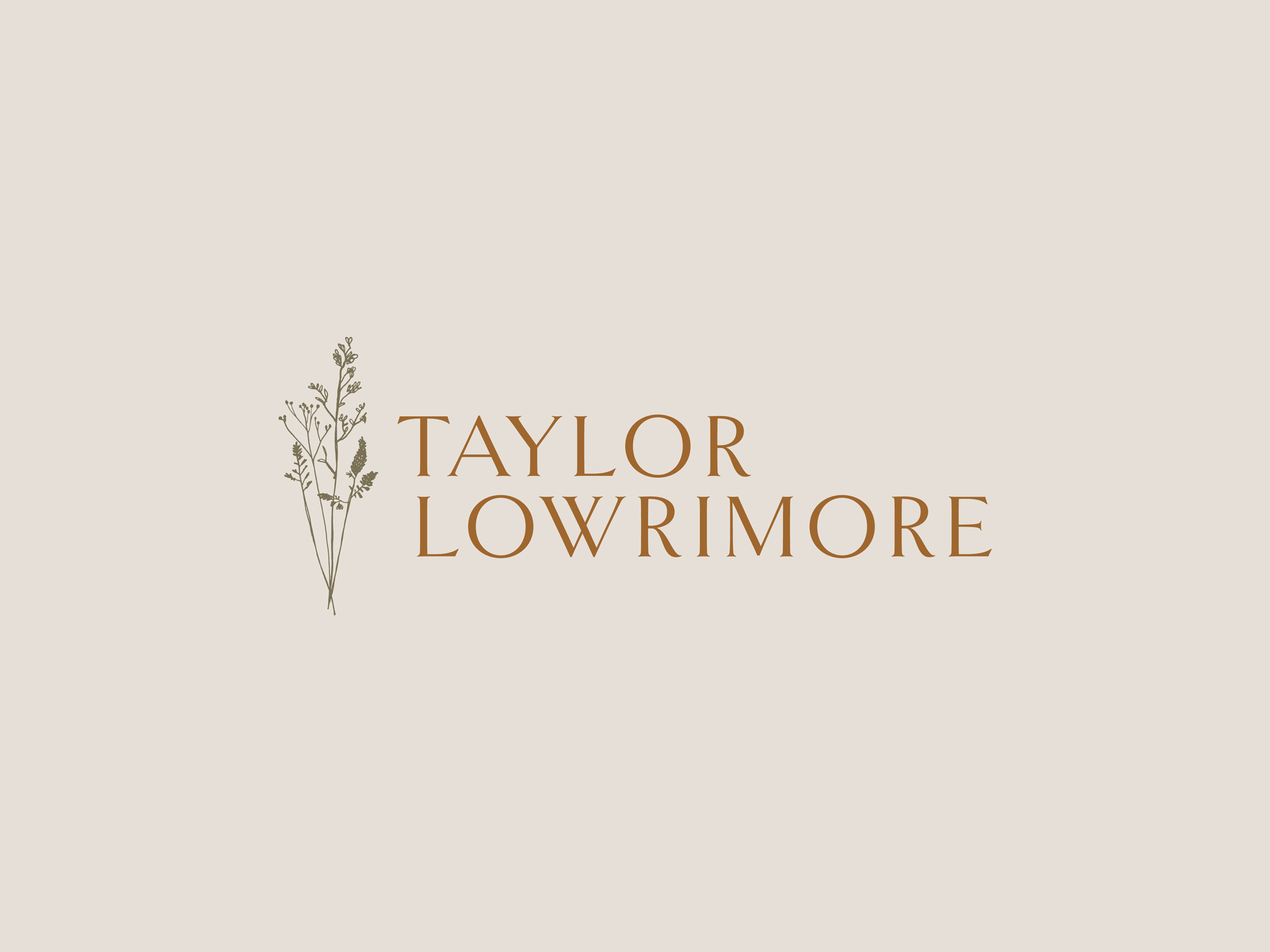 Taylor Lowrimore Logo Design, Website and Branding by Hello Gypsy