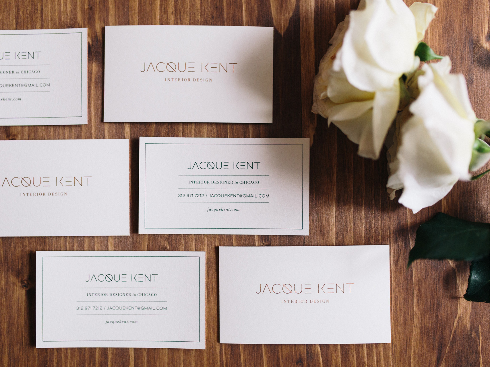 Jacque Kent Logo and Branding by Hello Gypsy