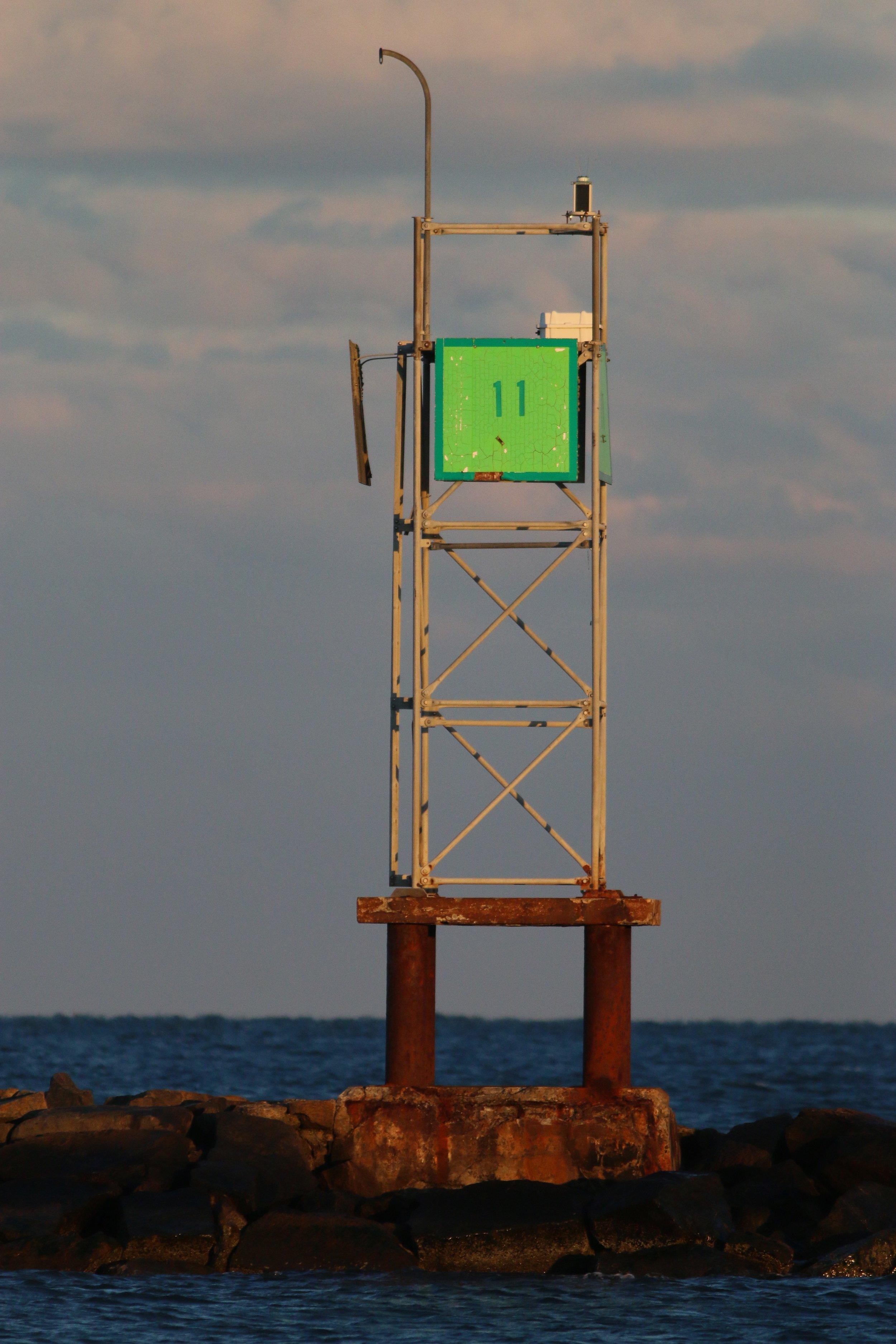 Lighthouse on Smuggler's Beach