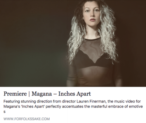Inches Apart- Magana- Directed by Lauren Finerman   For Folks Sake