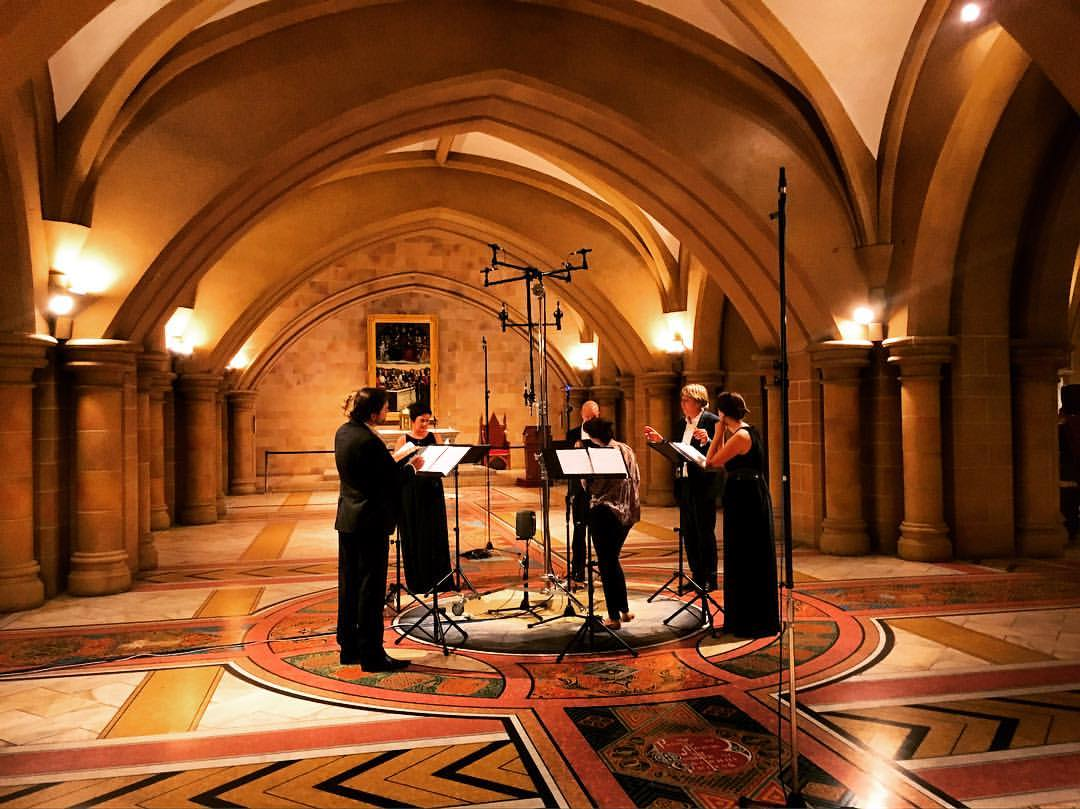 Song Company in The Crypt of St Mary's Cathedral, Sydney