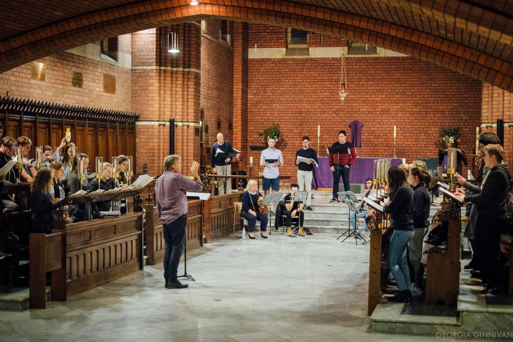 Arvo Pärt: Passio - Performed in Melbourne & Brighton, Victoria, Australia