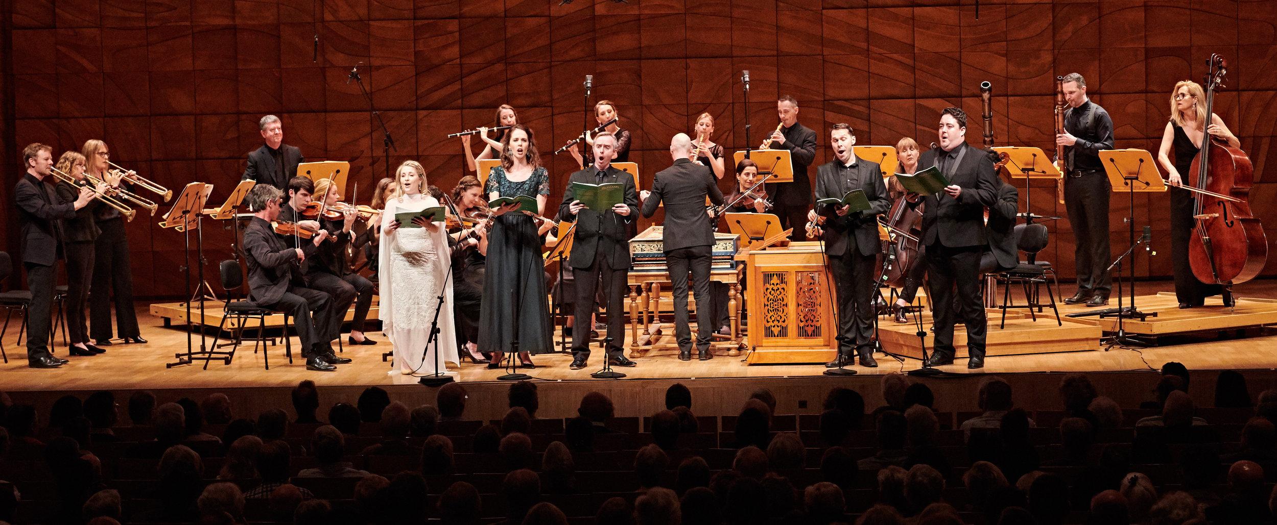 Bach & Telemann - Pincgut Opera / Melbourne & Sydney / April 2019
