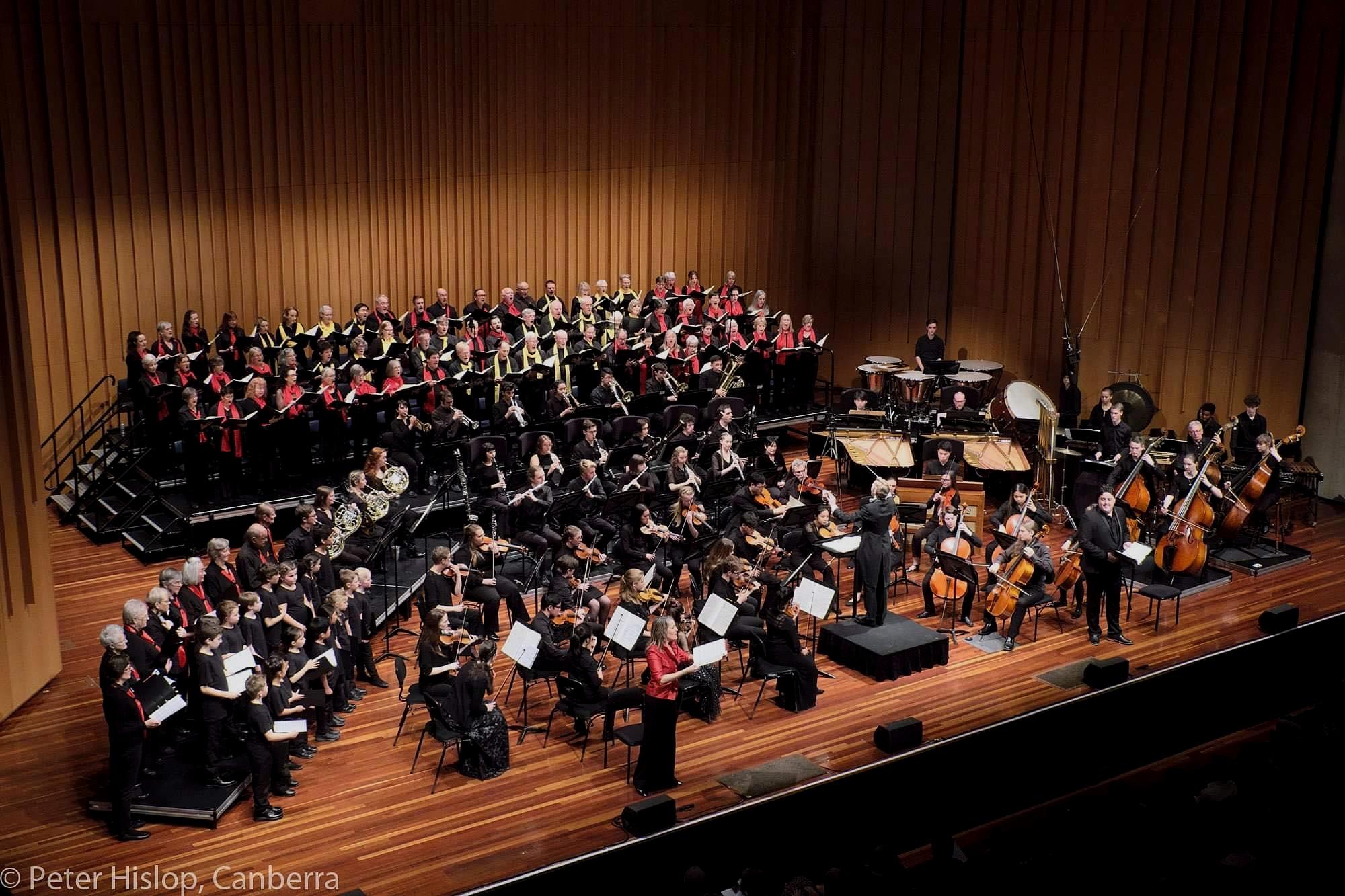 Carmina Burana - Canberra Youth Orchestra / June 2019