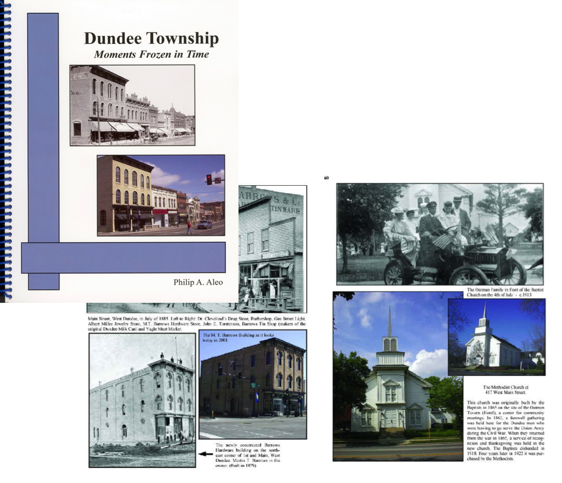 Dundee Township: Moments Frozen in Time