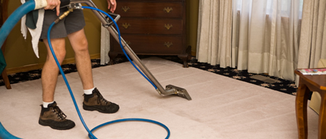Carpet Cleaners at work