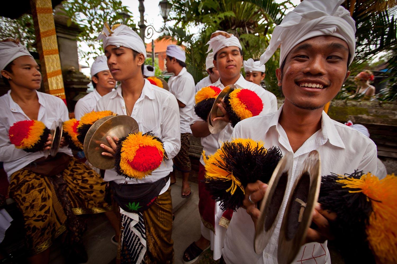 Melasti ceremony | Ubud, Bali
