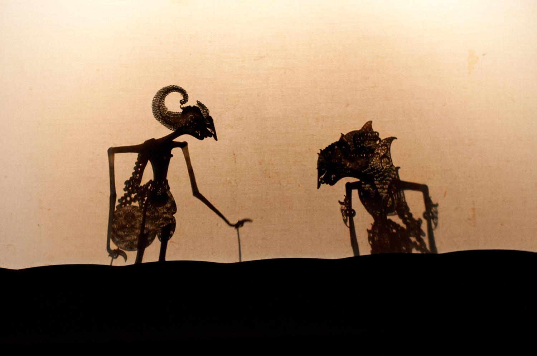 Wayang Kulit ceremonial shadow puppet play | Bali