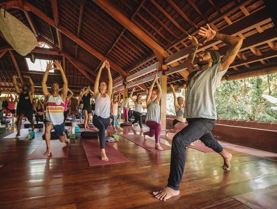 Image: Yoga Barn, Ubud