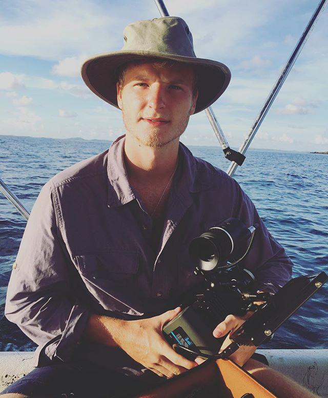 Filming Spear fishing on #culebra. #ahoymatey!
