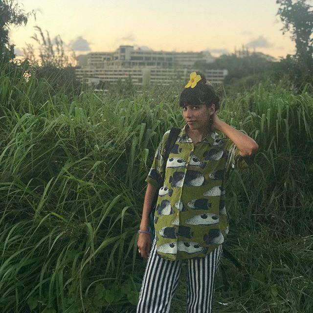 Island girl missing her king @creaturemilk