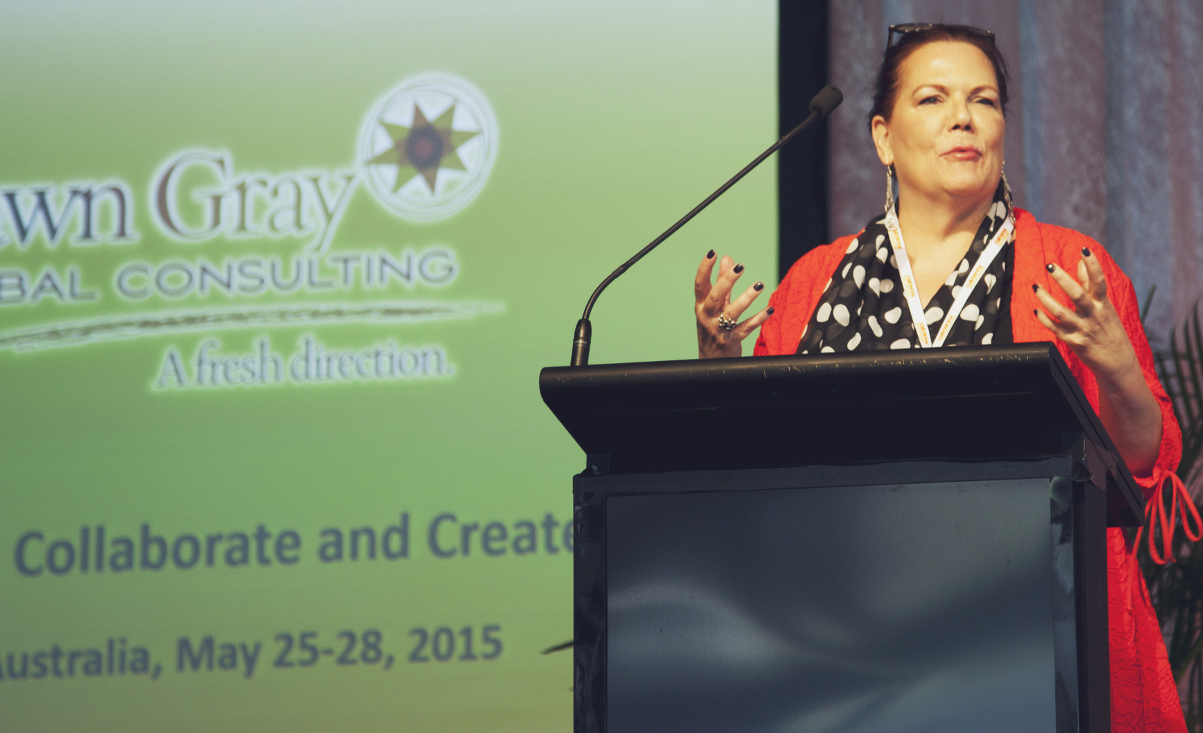 Keynote Speaker Dawn Gray