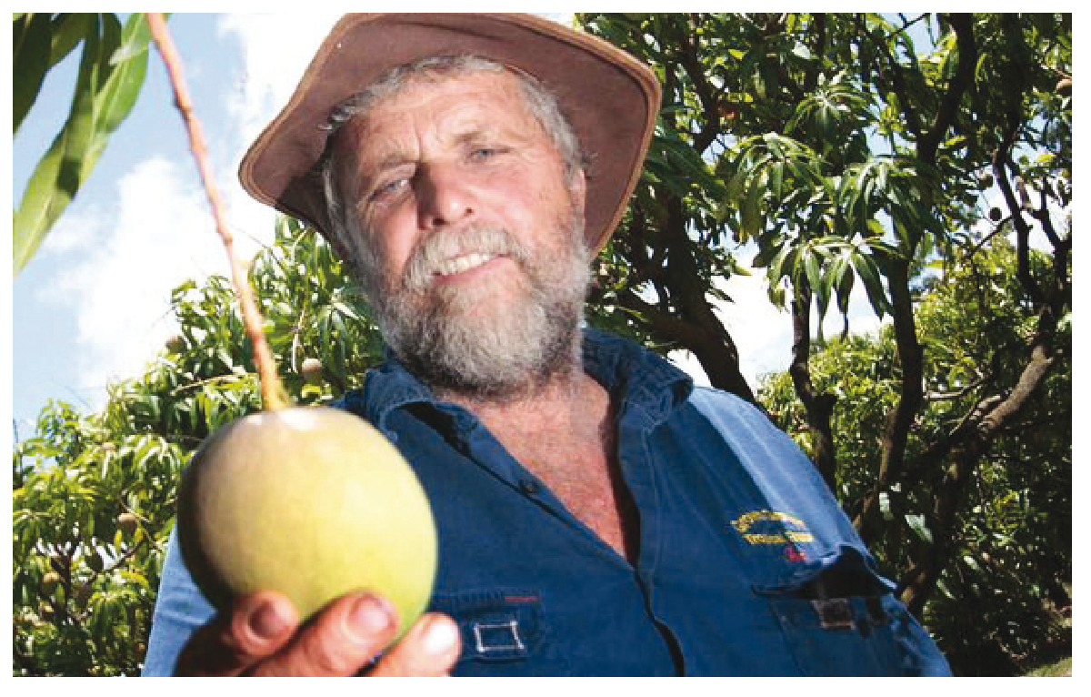 Ian Groves, from Groves Grown Tropical Fruit, featured in last year's grower profiling