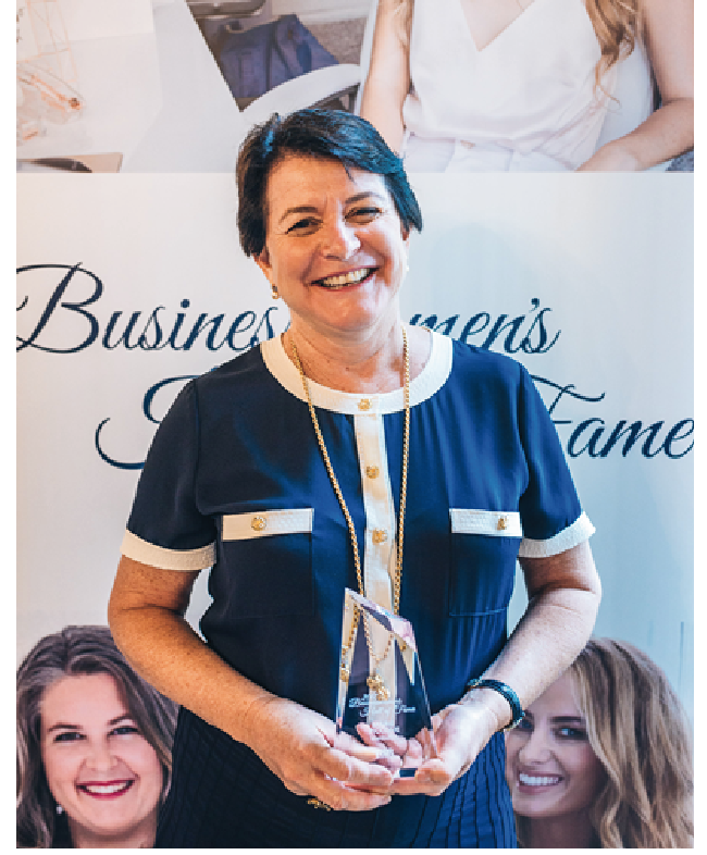 Marie Piccone from Manbulloo, inductee into the HerBusiness 2017 Businesswomen's Hall of Fame