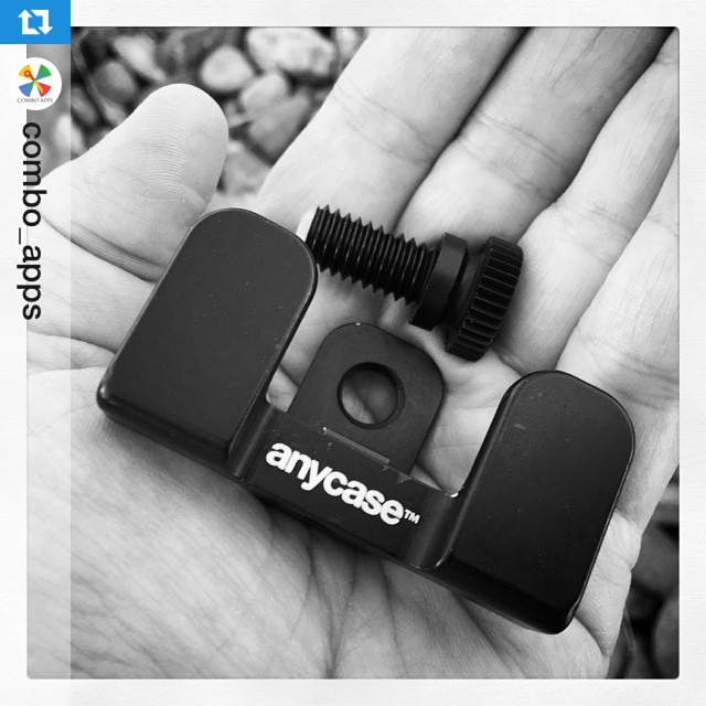 We're stoked you're stoked! #Repost @combo_apps ・・・Look at what I got in the mail today !!! #combo_apps #anycasePRO #tripodadapter #mobilegear #mobilephotography #mobilephotographer