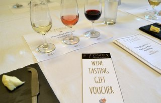 Christmas wine gift voucher
