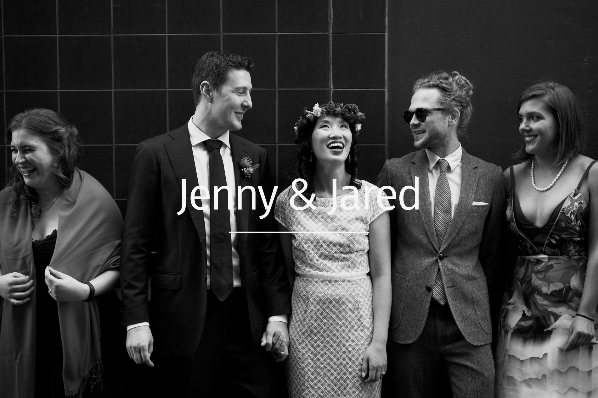 Jenny and Jared