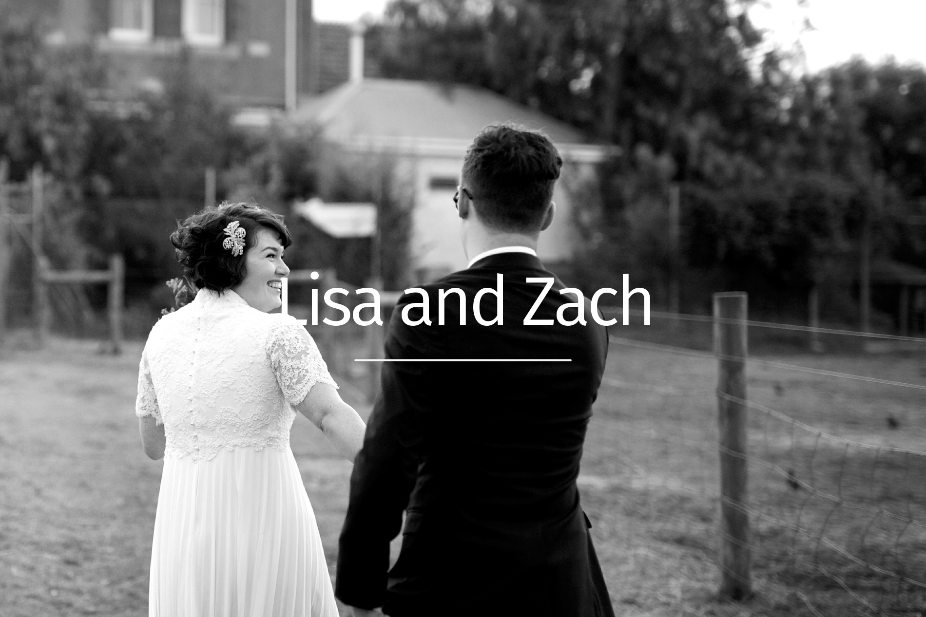 Lisa and Zach