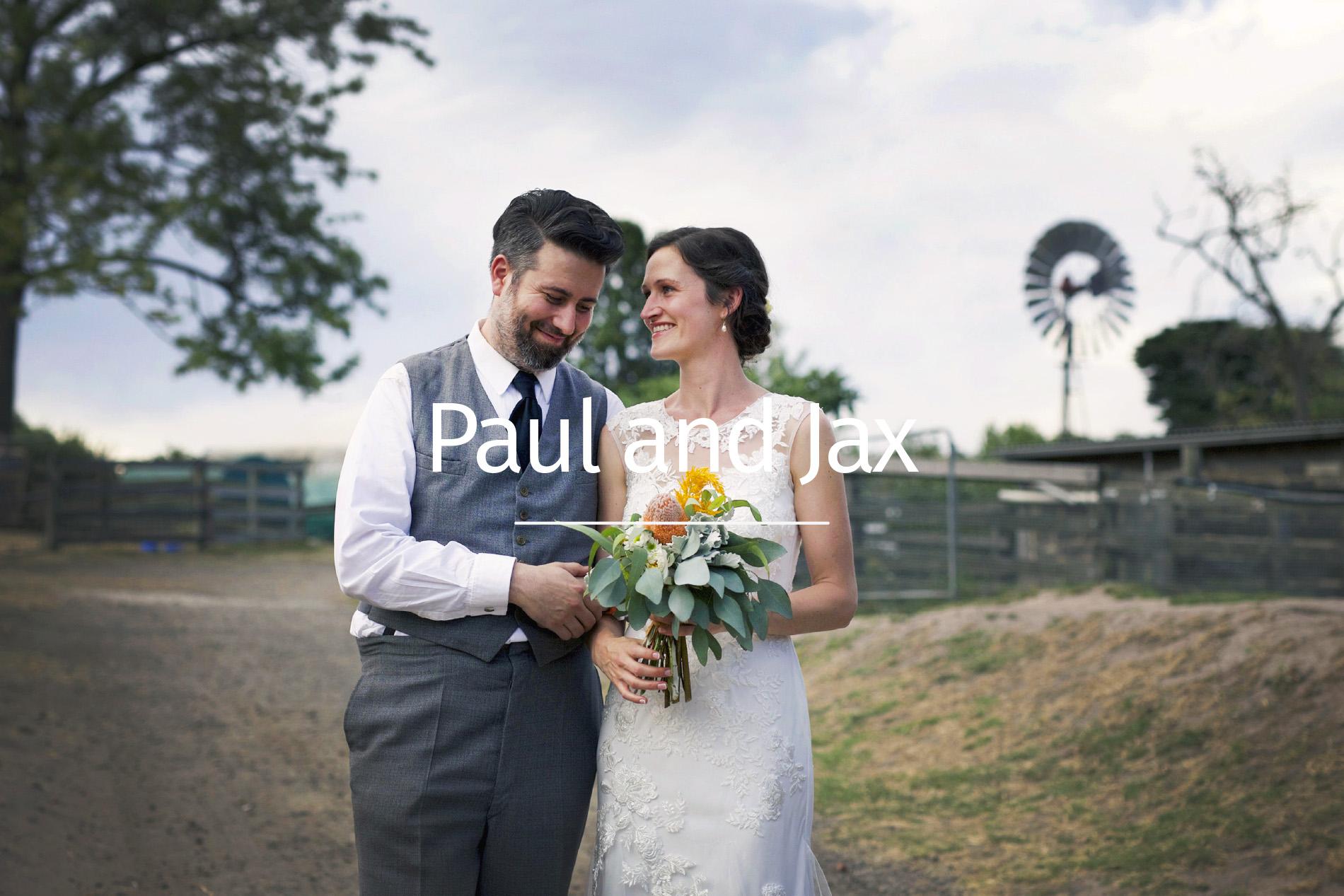 Paul and Jax