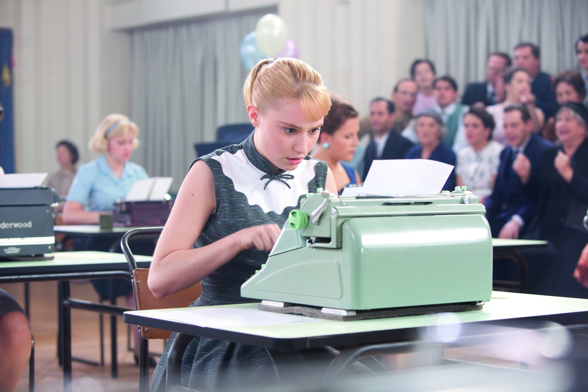 Populaire:  There's a lot of these shots in the film, so brace yourselves.