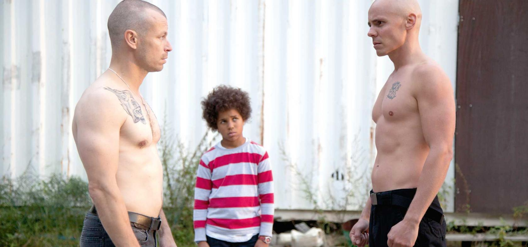 Heart of a Lion  (2013): Peter Franzén, Yusufa Sidibeh, and Jasper Pääkkönen.
