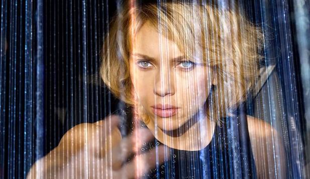 Lucy (2014): Scarlett Johansson.