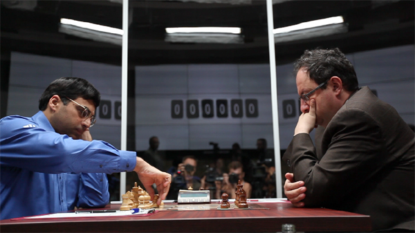 Album 61  (2013):  Viswanathan Anand and Boris Gelfand.
