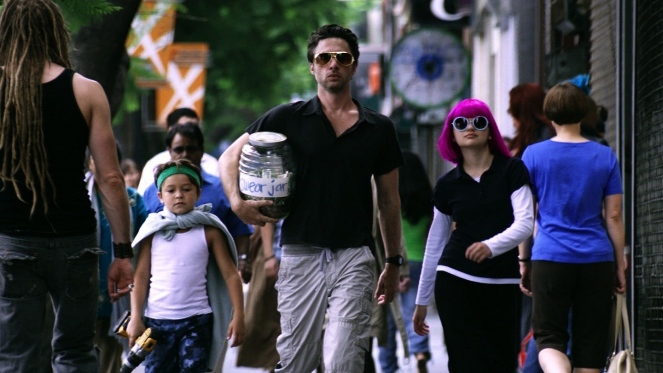 Wish I Was Here (2014): Pierce Gagnon,Zach Braff,Joey King.