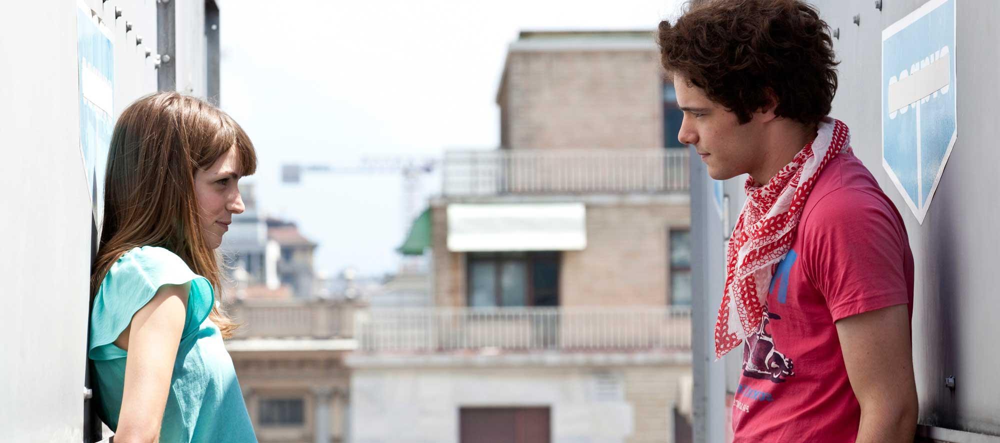 White Like Milk, Red Like Blood (2013): Luca Argentero andEugenio Franceschini.