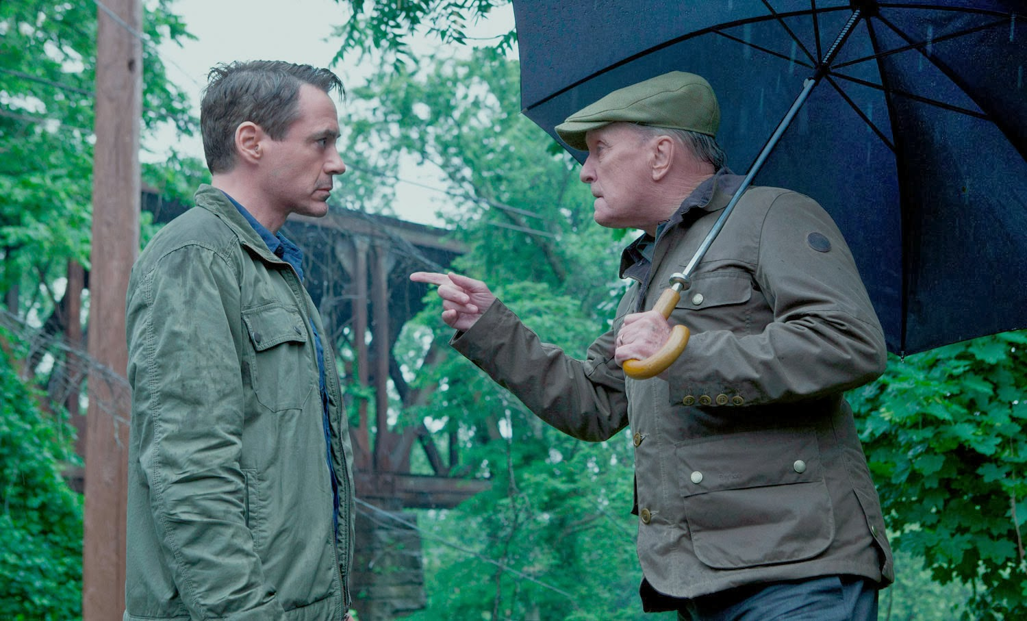 The Judge  (2014):  Robert Downey Jr. and Robert Duvall.