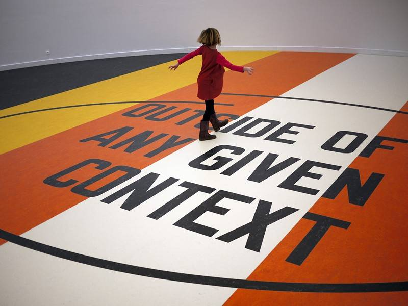 A Syntax of Dependency: - Lawrence Weiner en Liam Gillick - M HKA